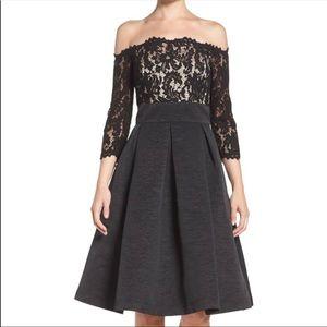 Eliza J Black Cocktail Dress 👗